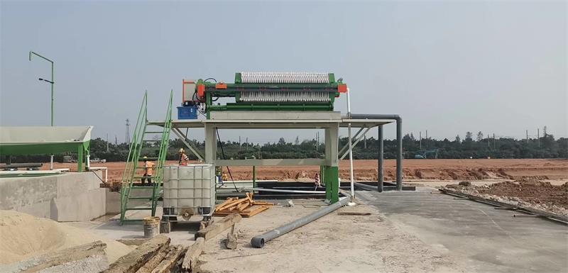 详解领先机械压滤机的生产施工