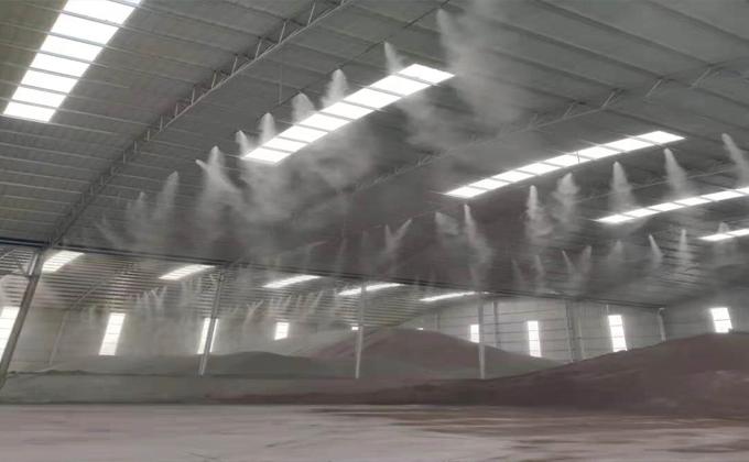 料场雾化喷淋设备成功案例