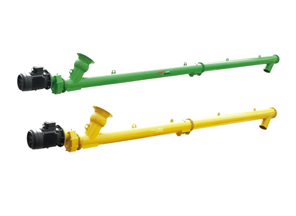 螺旋输送机的工作原理、结构及应用