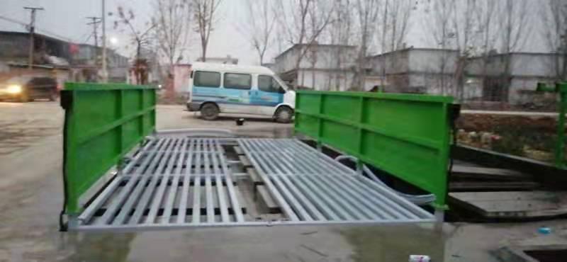 水泥厂洗车机优势多维护也不能落下