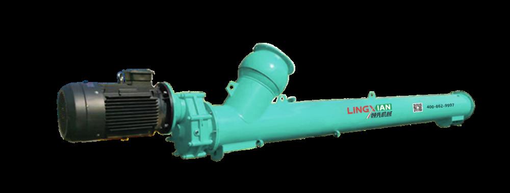 螺旋输送机的材质可以根据物料选择